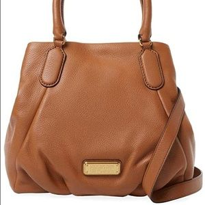 Marc by Marc Jacobs New Q Fran Leather Satchel
